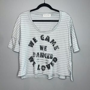 UO Project Social T We Came Danced & Loved tee S